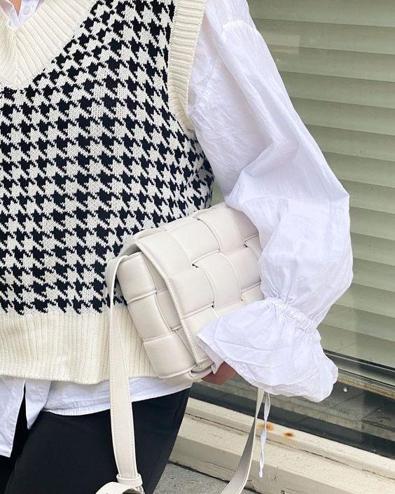 Spencer blouse plofmouwen