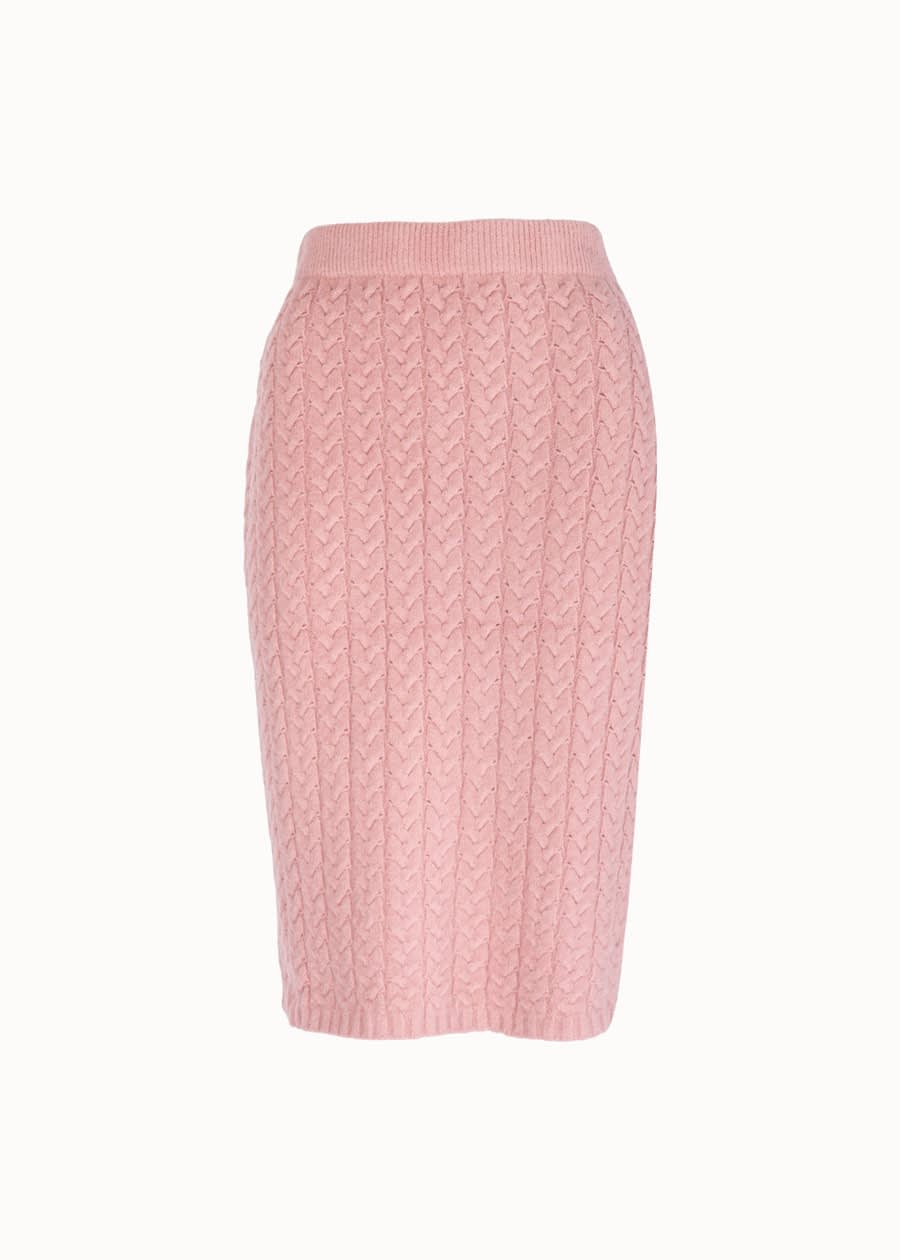 Ribbed jogging rok