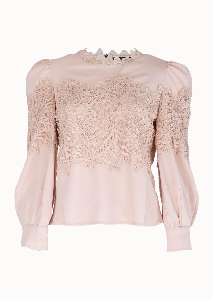 In Vogue blouse met kant