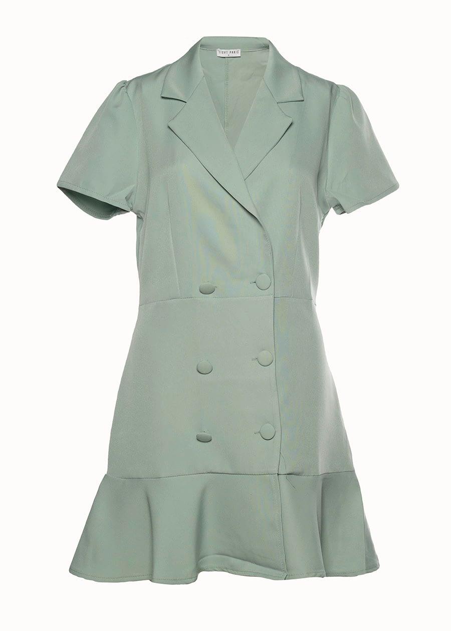 Blazer jurk mint