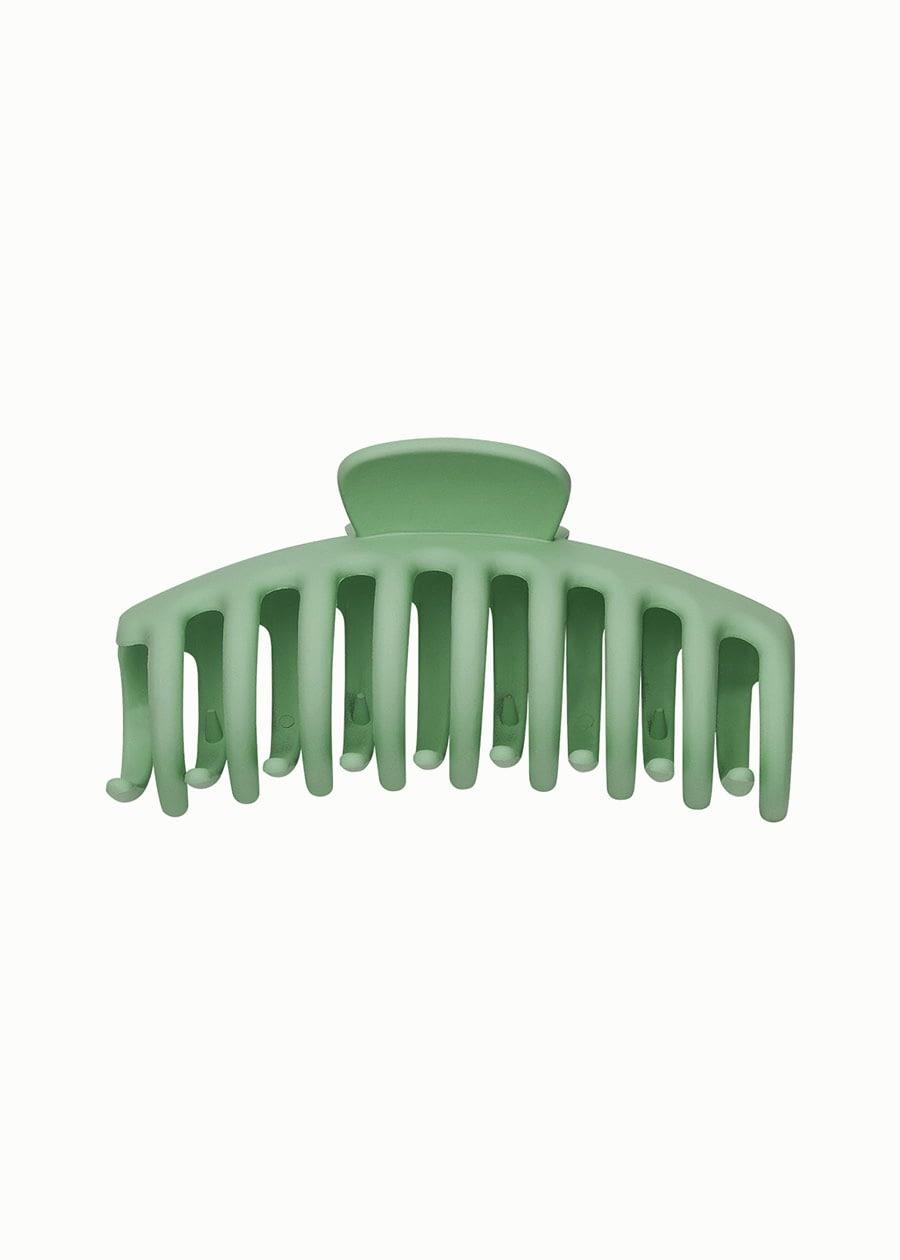 Haarklem mat groen