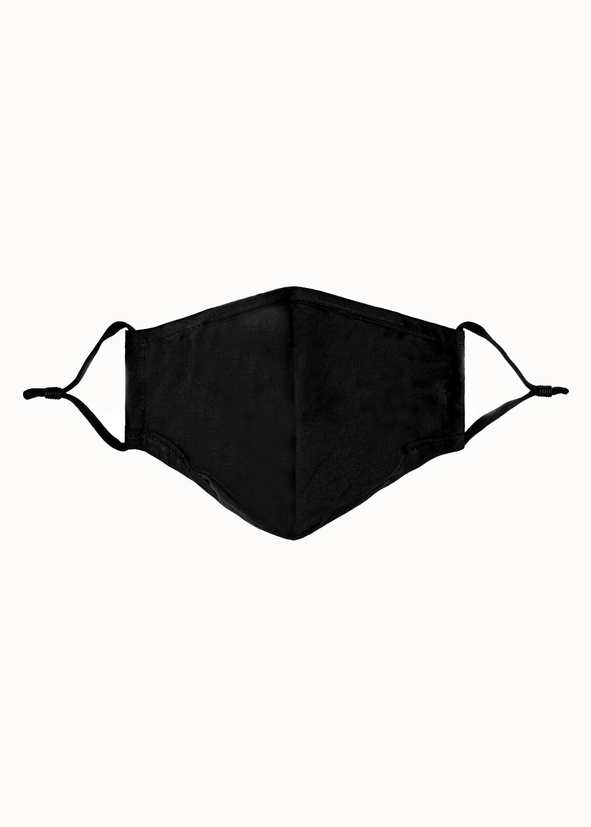 Mondkapje zwart