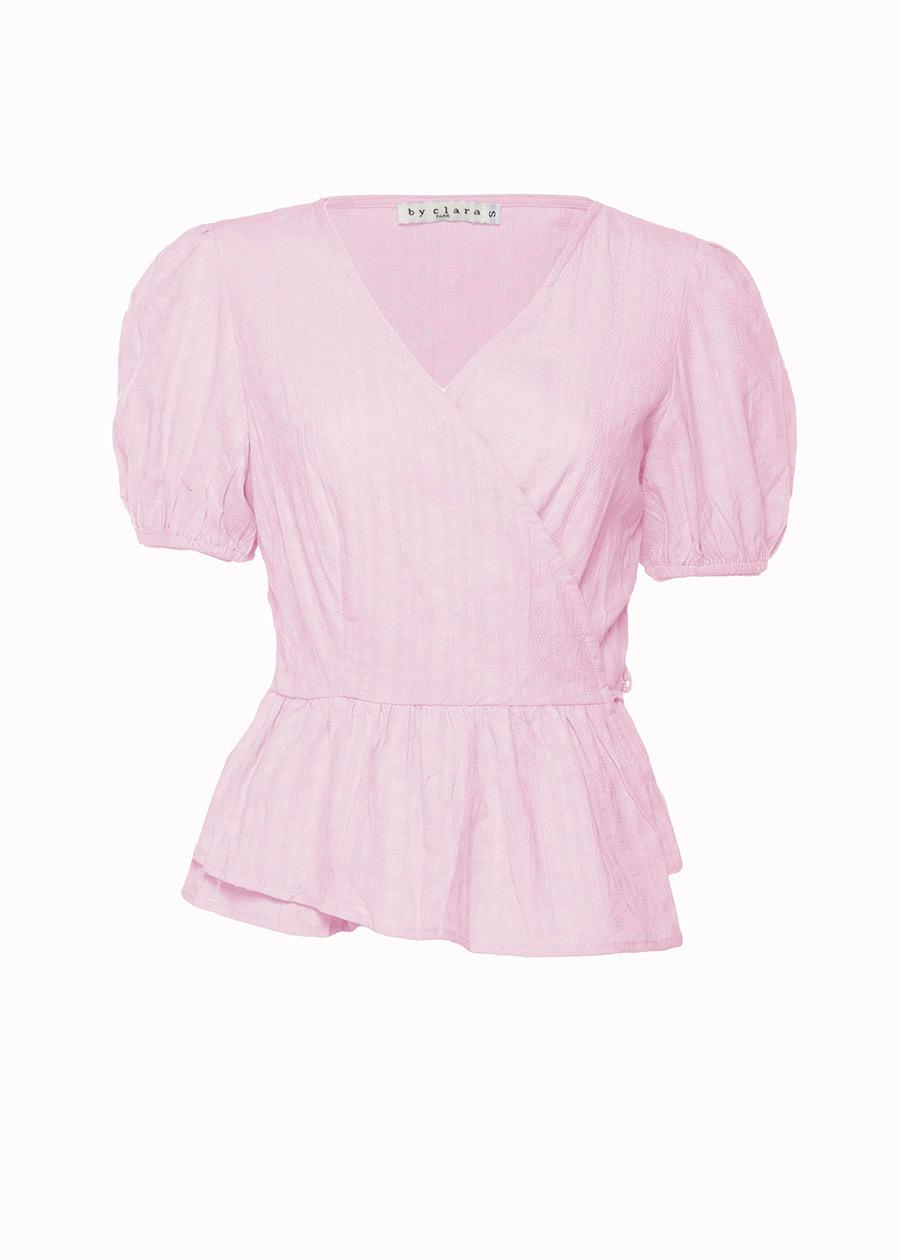 Roze wikkeltop
