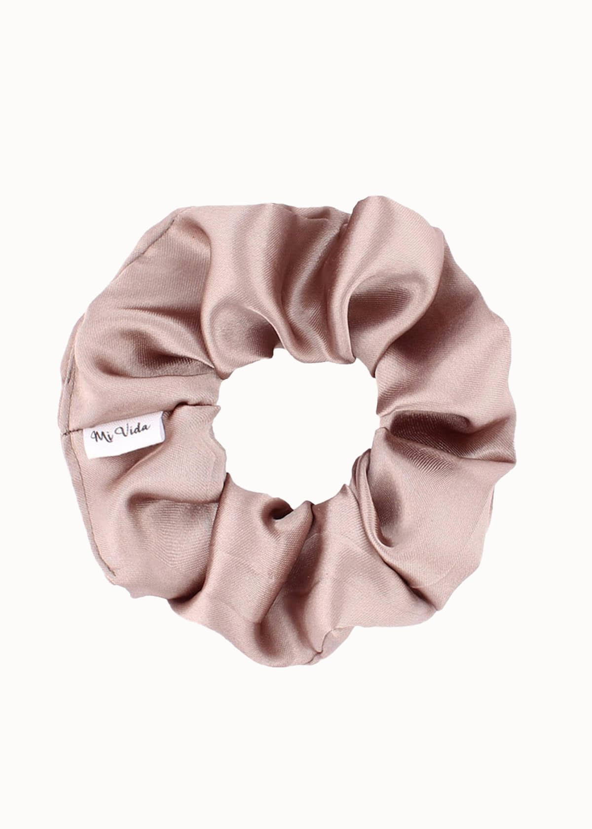 Satijnen scrunchie perfect fall