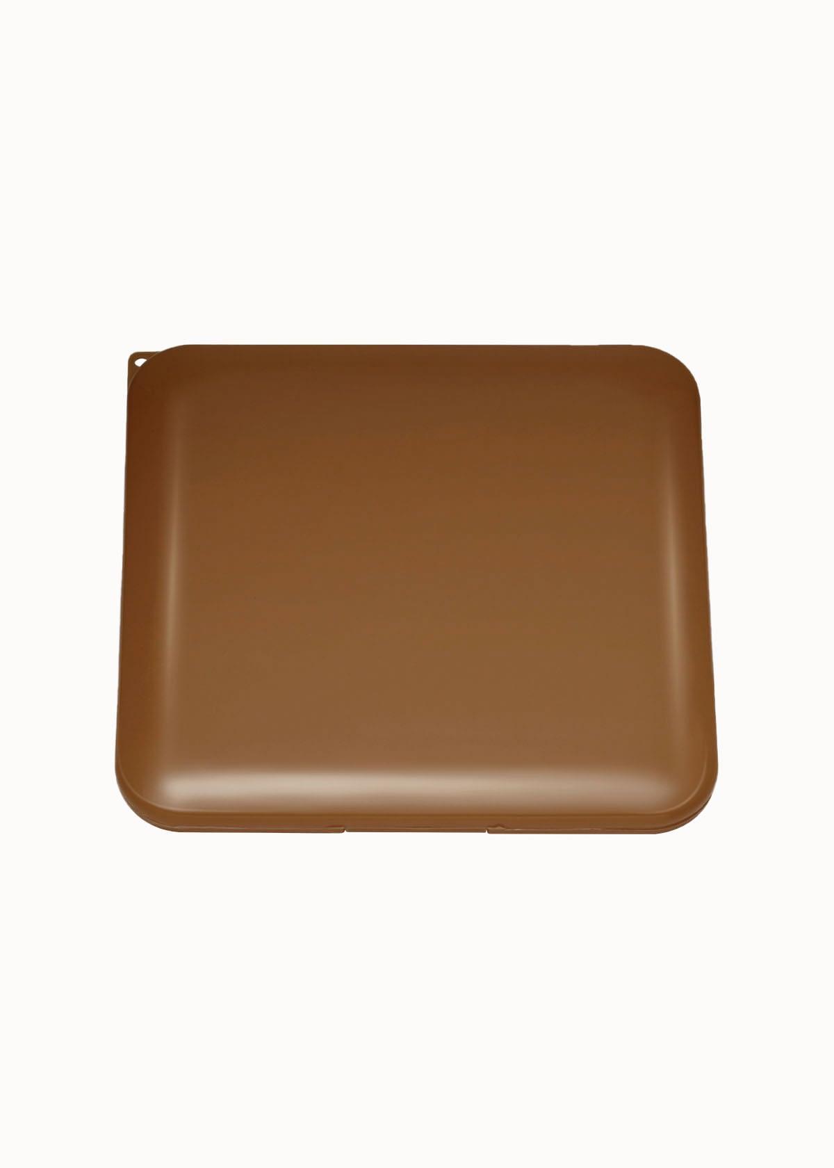 Mondkap case bruin