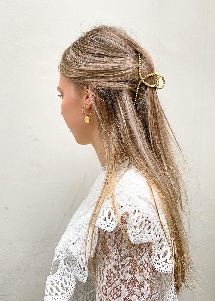 Gouden haarklem