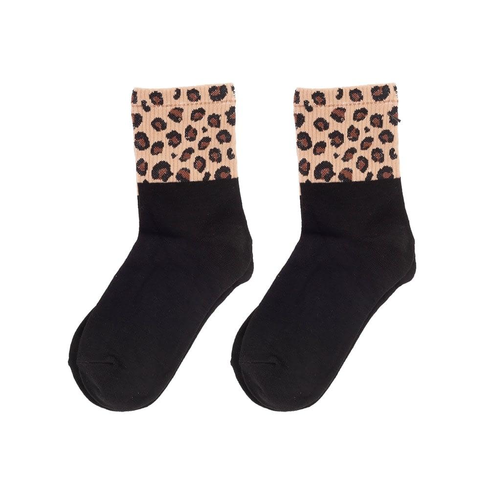 Luipaard sokken sports