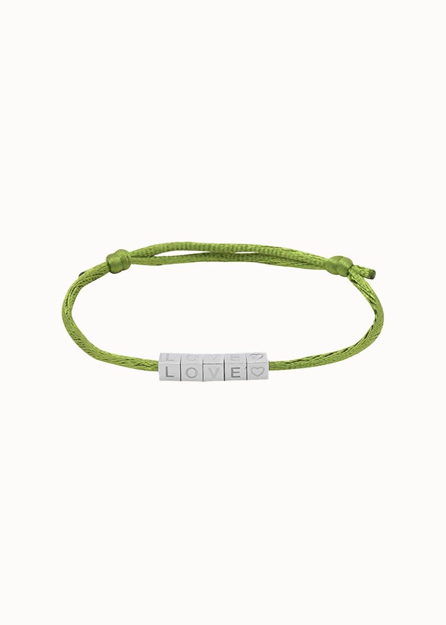Knoop armband