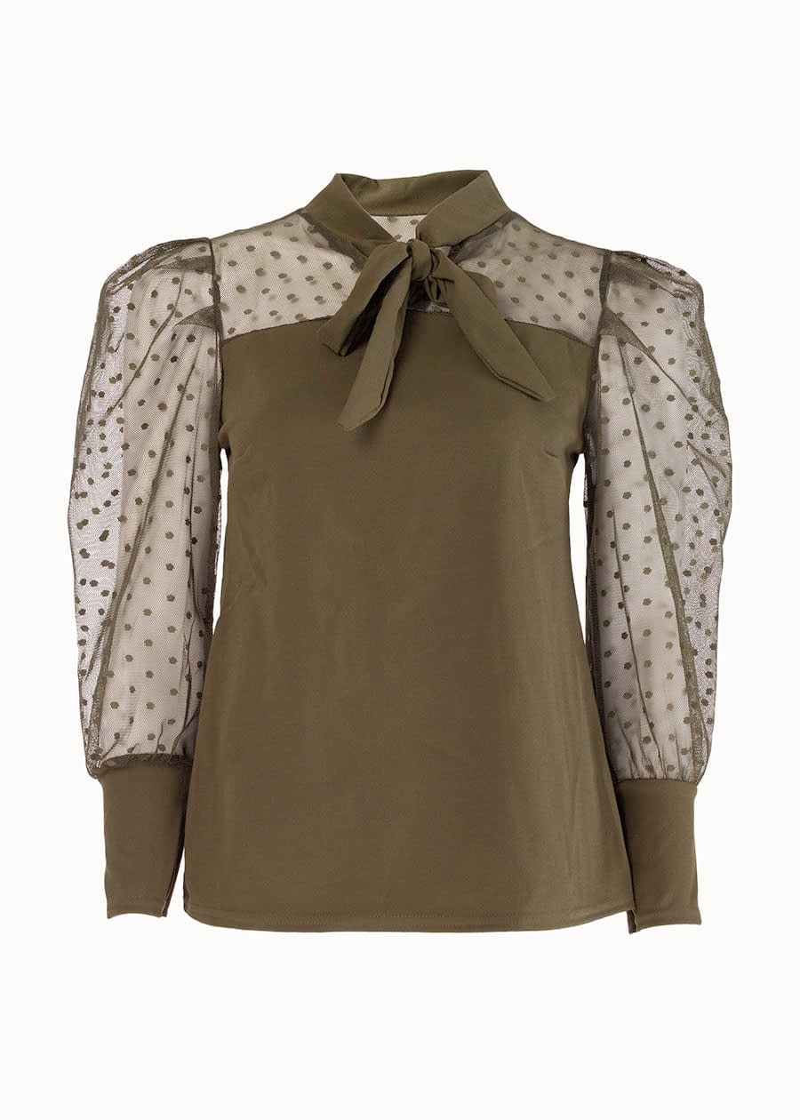 Blouse tendence lace