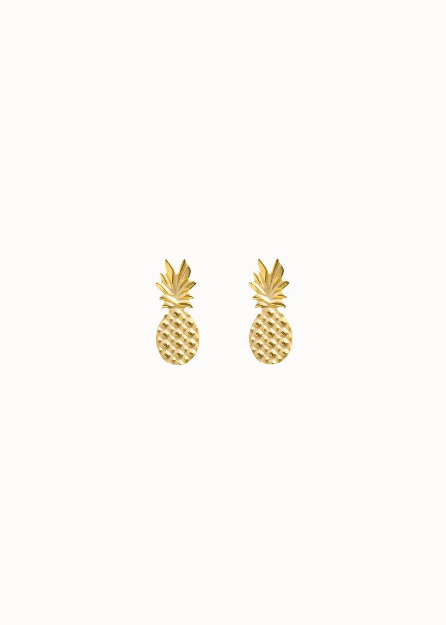 Oorbellen ananas