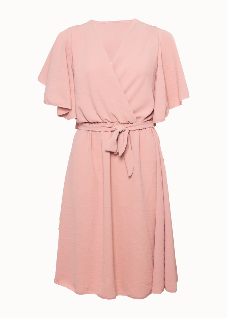 Roze zomerjurk