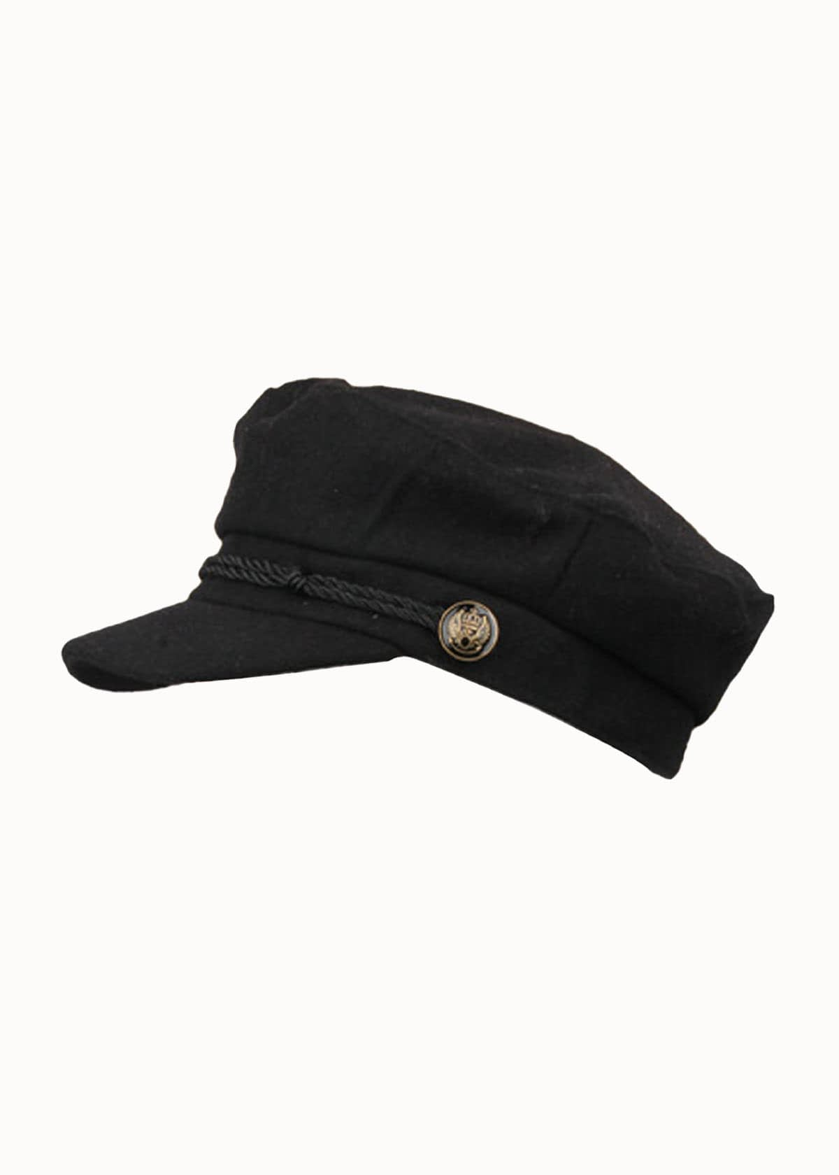 Sailor cap zwart