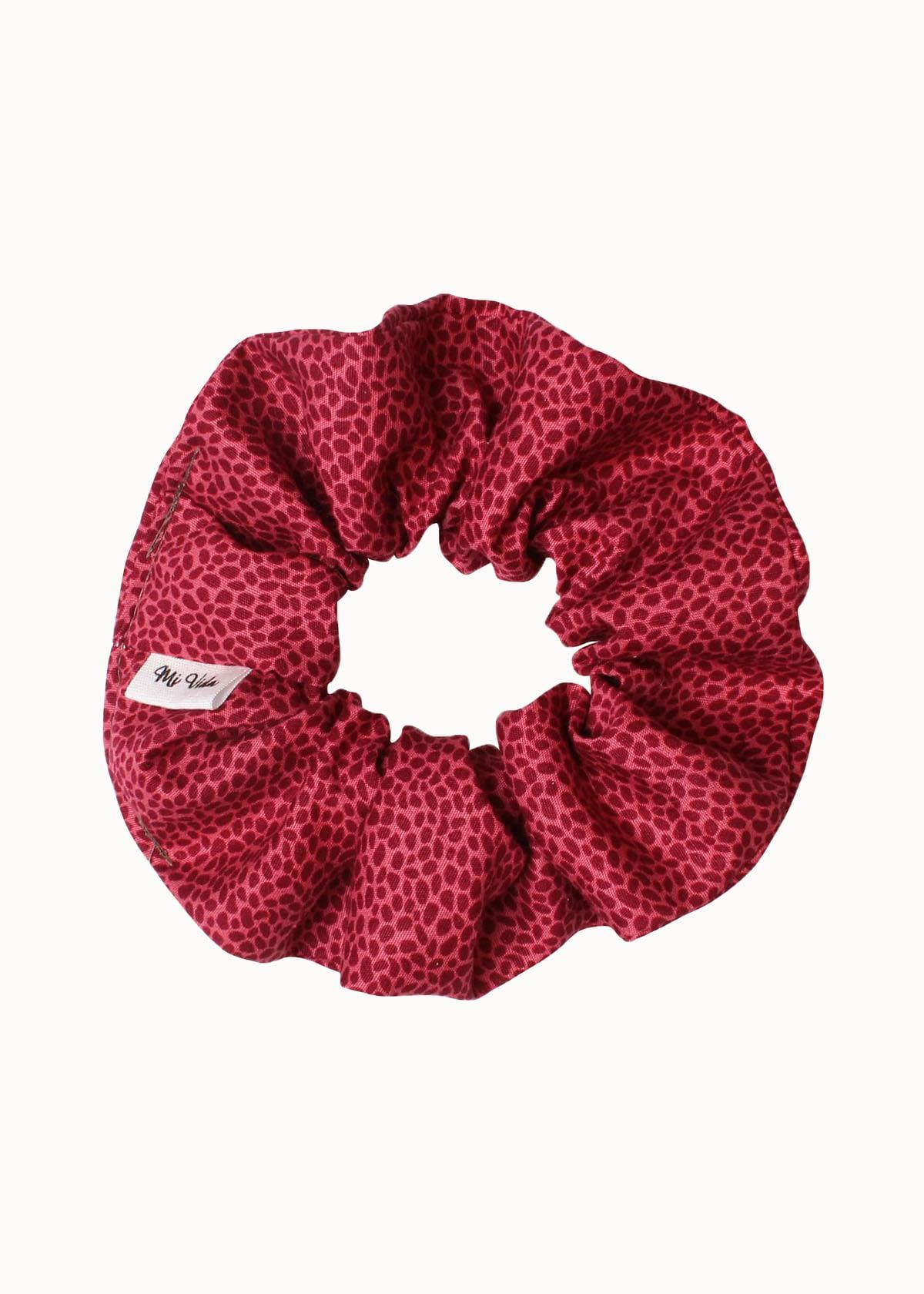 Luipaard print scrunchie