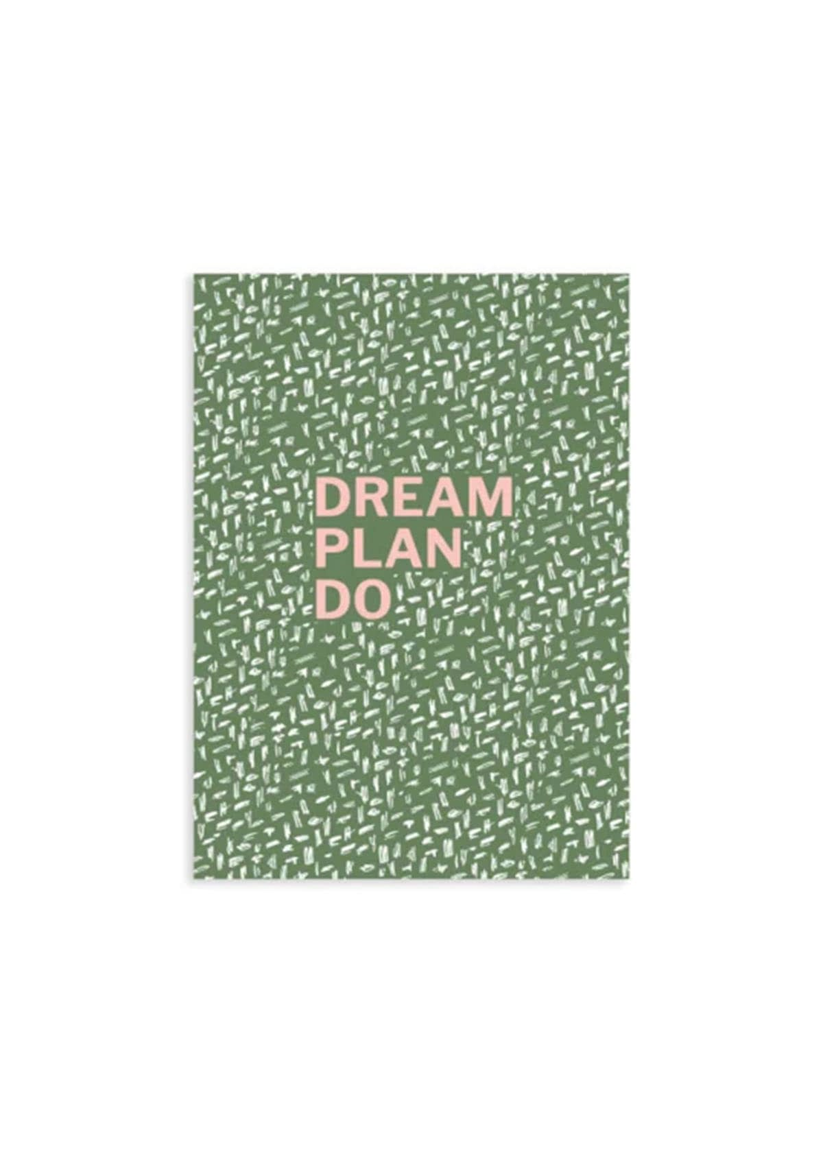 A6 schrift dream plan do