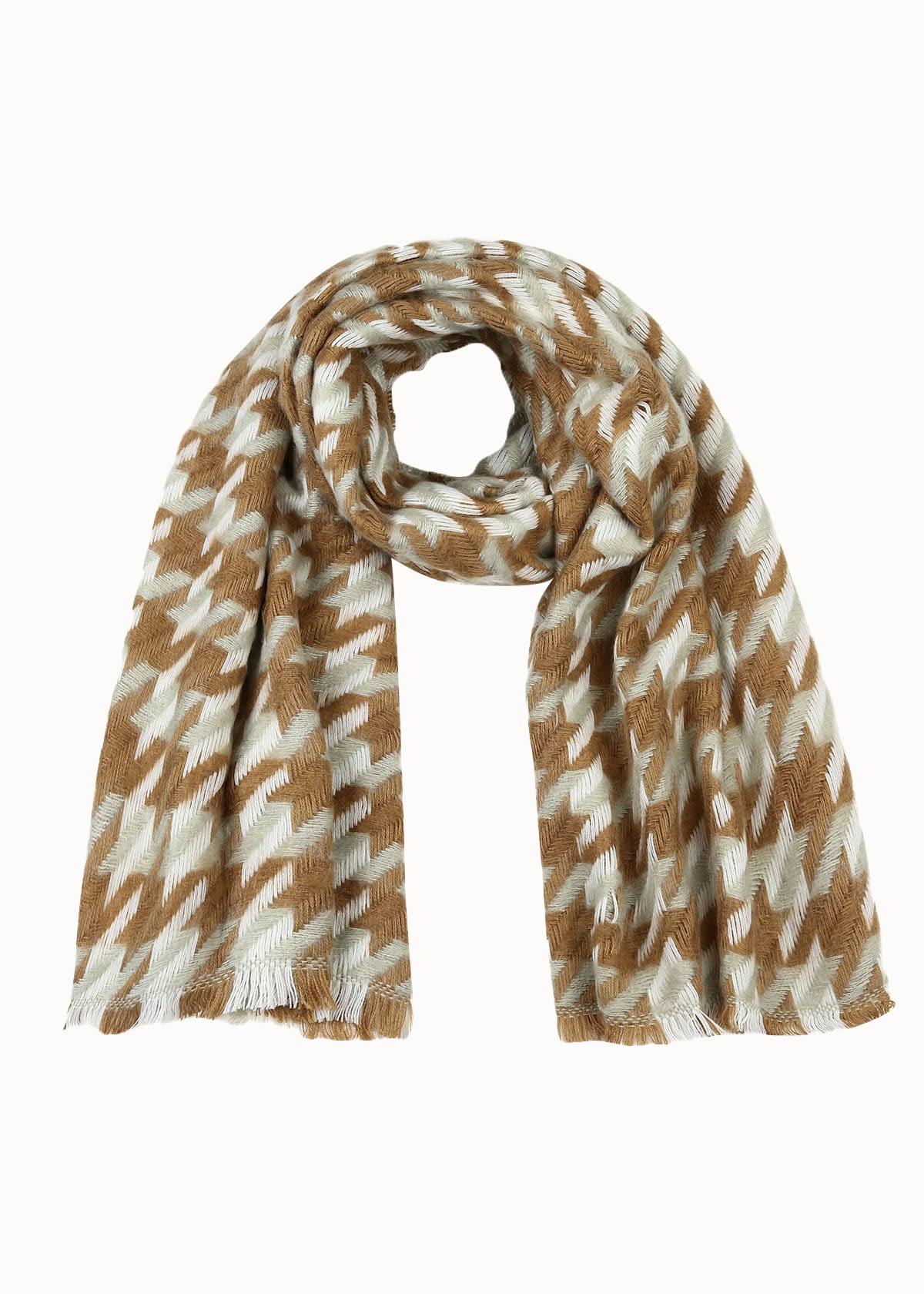 Cozy ruitjes sjaal