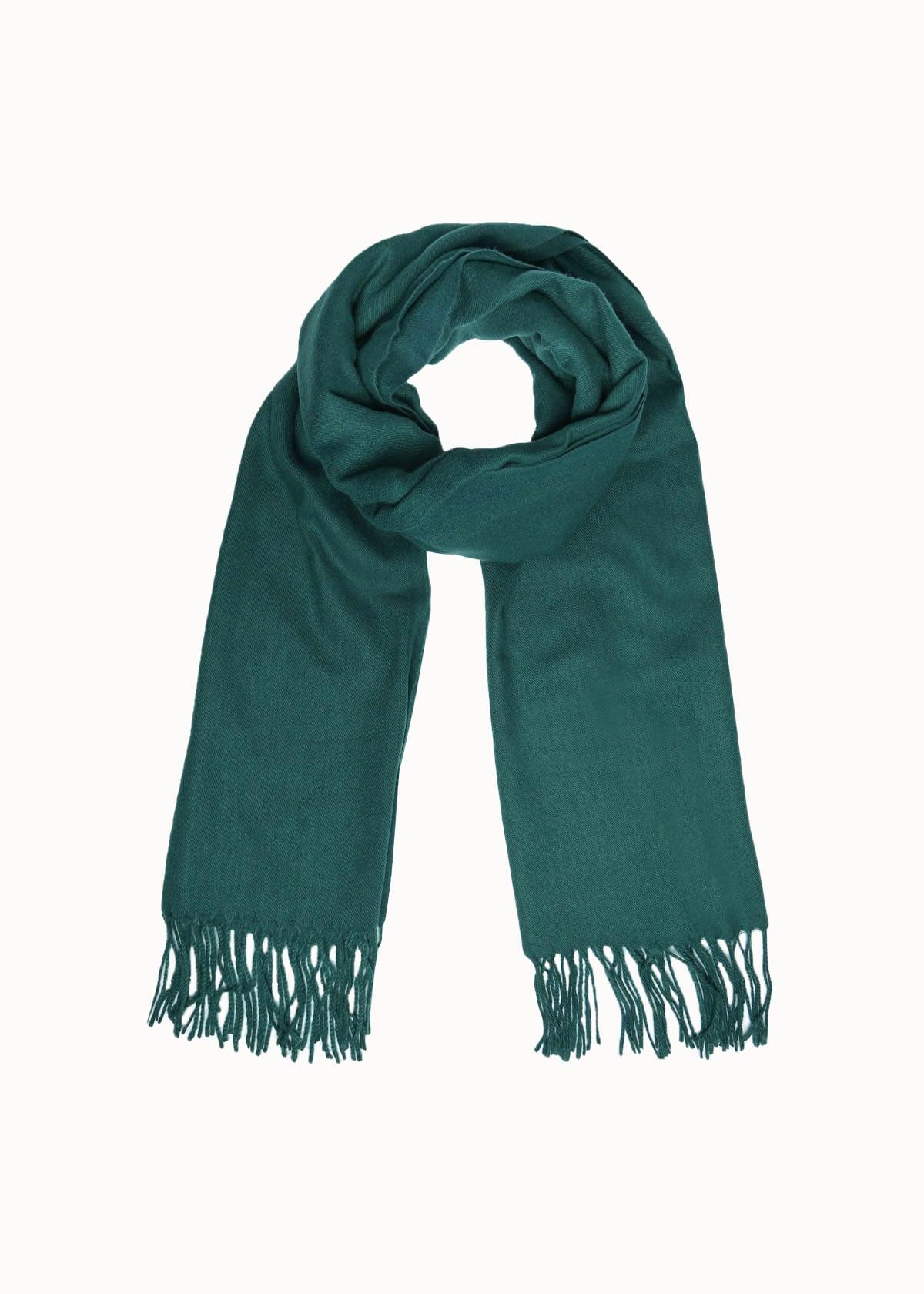 Warme dames sjaal groen