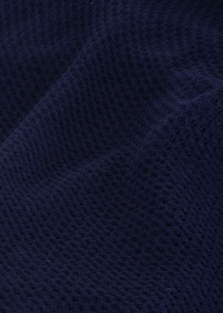 Blauw vest dames