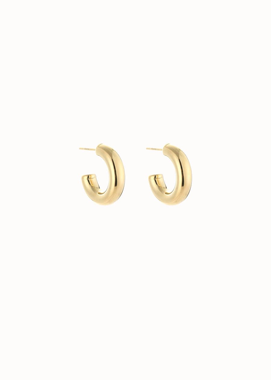 Statement oorbel hoops